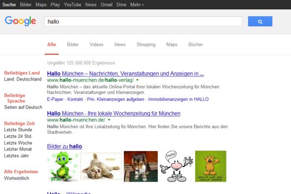 google komisch - (Internet, Google, Browser)