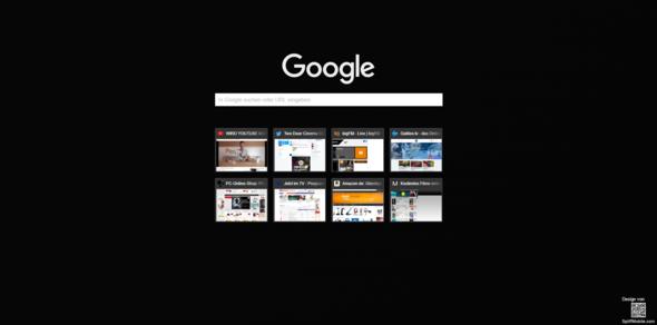 BIld 1 (Chrome Startseite) - (Internet, Google, suche )