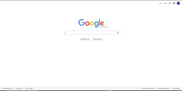 Bild 2 (richtige Google Startseite) - (Internet, Google, suche )