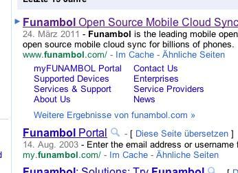 Google Untermenü - (Google, SEO)