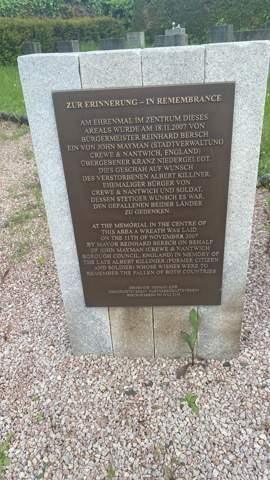 Grab (Namen) von Kriegstoten?