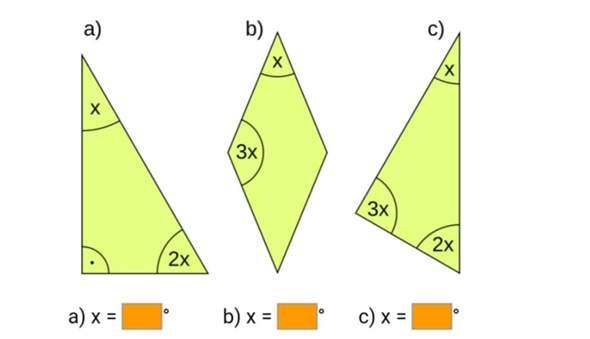 Gradzahl in Dreiecken ausrechnen?