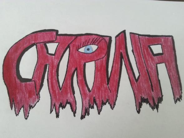 Das Graffiti von mir... :) - (Kunst, Graffiti)