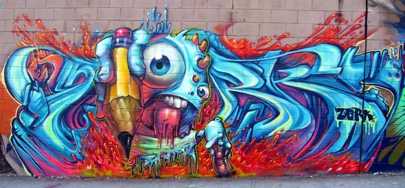Dieses Hier - (Graffiti, Vandalismus)