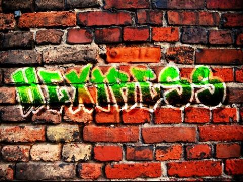 graffiti schrift mit gimp erstellen wie geht das bilder bildbearbeitung zug. Black Bedroom Furniture Sets. Home Design Ideas