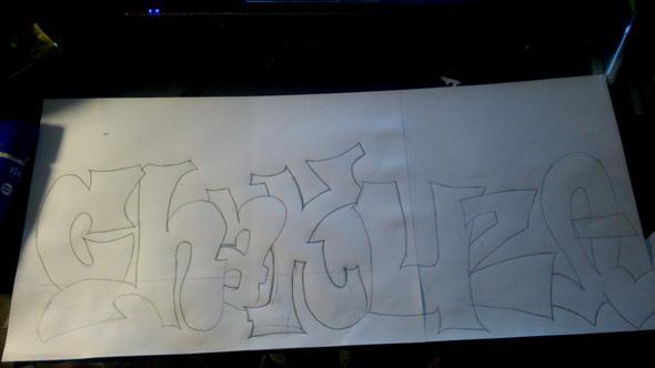 Graffiti Meinung Anfänger Zeichnen