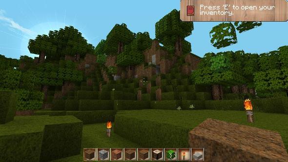 Vor einem Hügel - (Minecraft, Windows-Vista, texturepack)