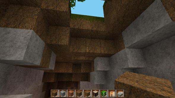 Höhleneinang - (Minecraft, Windows-Vista, texturepack)