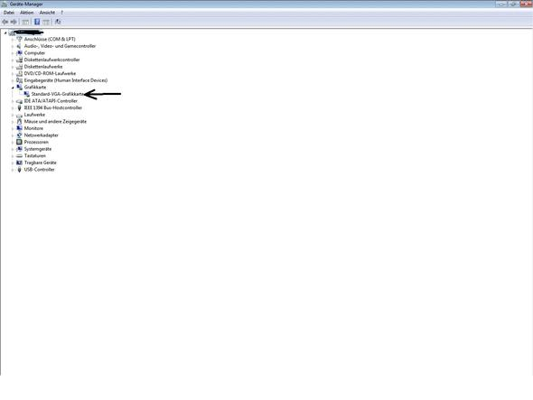 Gerätemanager - (Computer, Grafikkarte, Standartgrafikkarte)