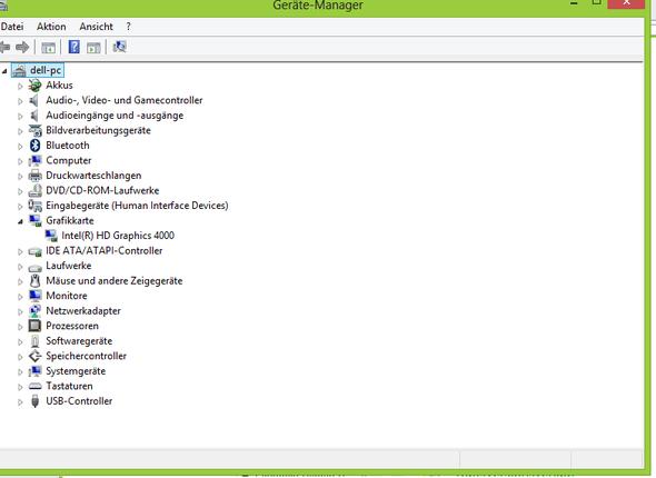 Gerätemanager - (PC, Grafikkarte, Hardware)
