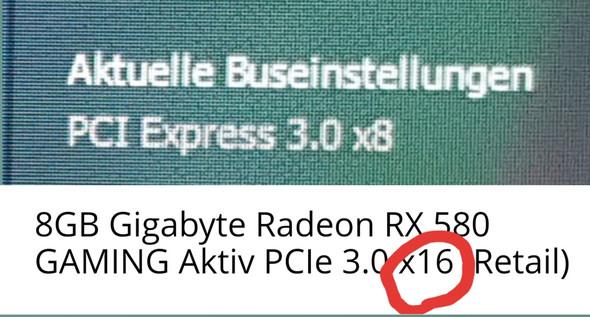 Grafikkarte PCI-E 3.0 16x einstellen?
