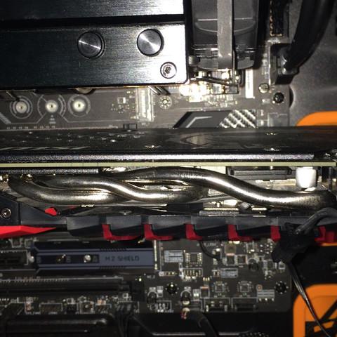 Grafikkarte steckt im PCI-E fest?