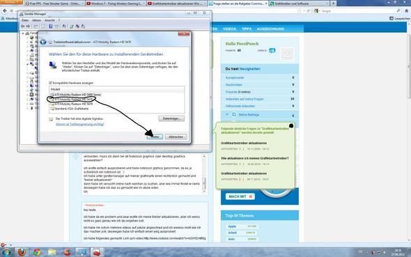 Verschiedene Treibersoftware - (Grafikkarte, Windows 7, Treiber)