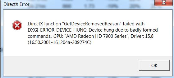 Felhermeldung nach Absturz - (PC, Grafikkarte, Windows 7)