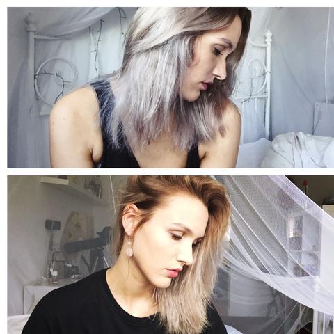 Geliebte Granny Hair: wie erhalte ich die Farbe? (Haare, Haarfarbe, Silber) #TH_63