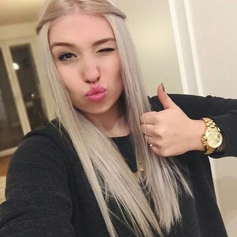 Haare farben in grau
