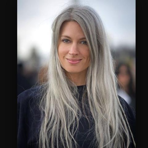 Graue Haare Blondieren Graue Haare Färben Diese