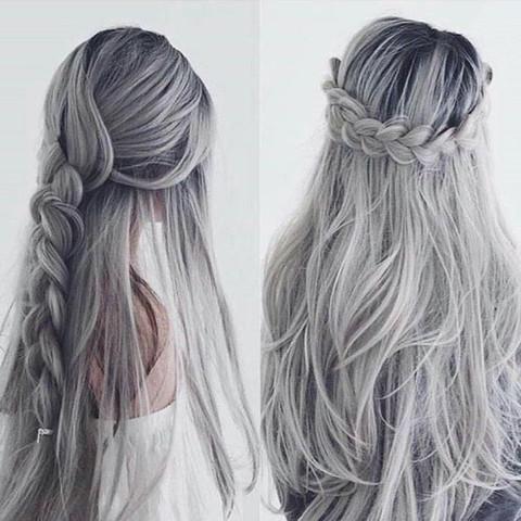 Wunschergebniss - (Haare, färben, zu Hause)