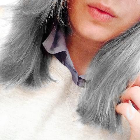graue haare mit directions färben tönen grau