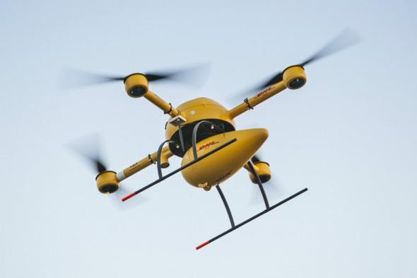 Drohne mit Bombenpaket - (Internet, Technik, Physik)