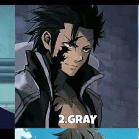 Gray Bin Fairy Tail