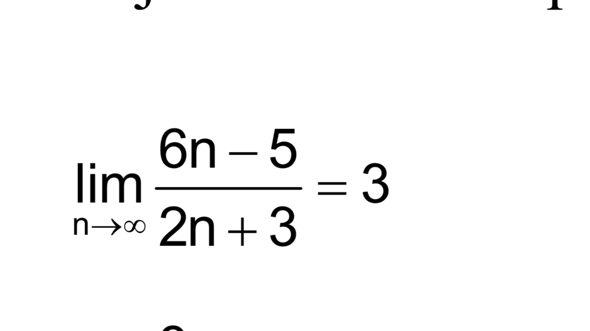 Grenzwert von Zahlenfolgen brauche Hilfe ?