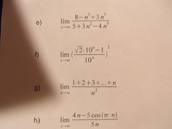 Matheaufgaben - (Mathe, Studium, Elektrotechnik)