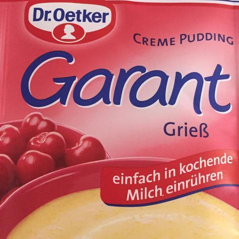 Grießbrei pulver pudding zum frühstück? :)