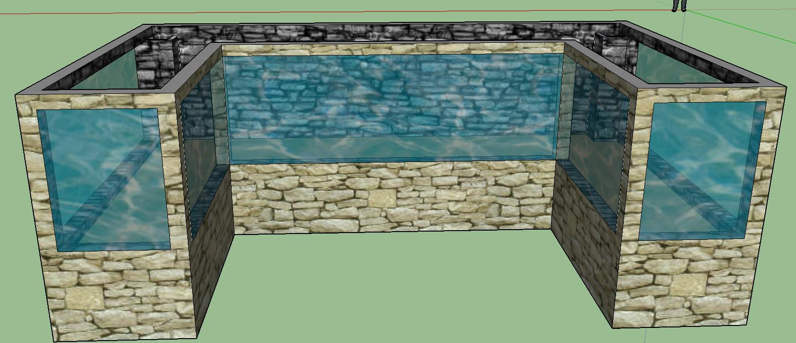 grossaquarium abdichten aquarium bauen aquaristik. Black Bedroom Furniture Sets. Home Design Ideas