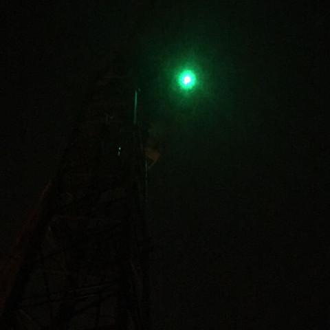 Grün blinkendes Licht auf Kran? (Fragen, Rettungsdienst, Helikopter)