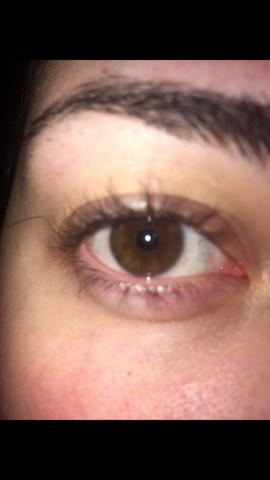 Grüne Augen im Blitzlicht , aber braune in echt? (grün
