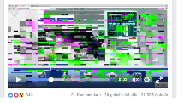 so sieht es aus - (Facebook, Windows 10, google-chrome)