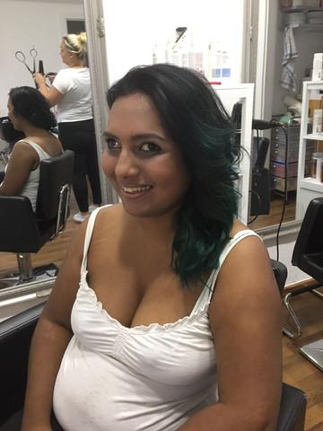 Die grüne farbe - (Haare, directionfarbe)