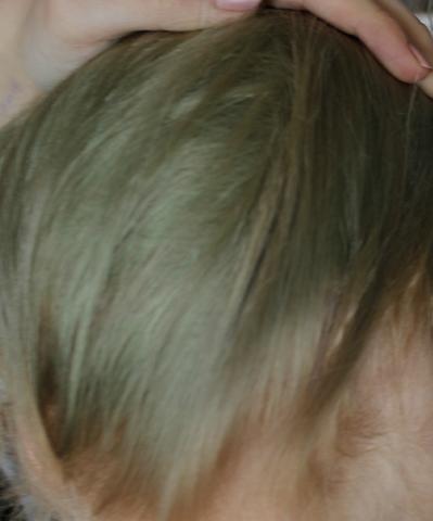 Die untere Haarpartie - (Haare, Beauty, färben)