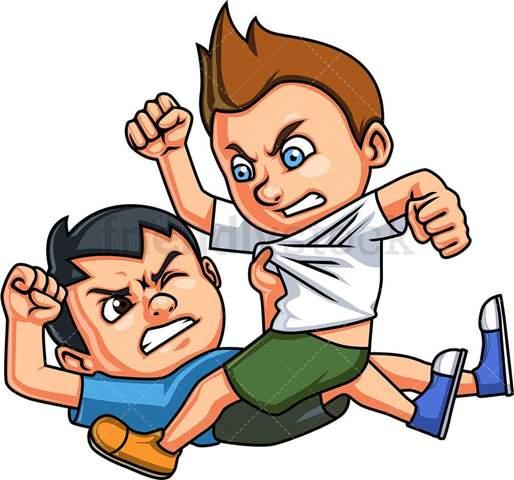 Grundschulzeit: Du hast einen Fight mit einem Mitschüler in der großen Pause vor euren jeweiligen Klassenkameraden - Was wäre unangenehmer/schlimmer und warum?