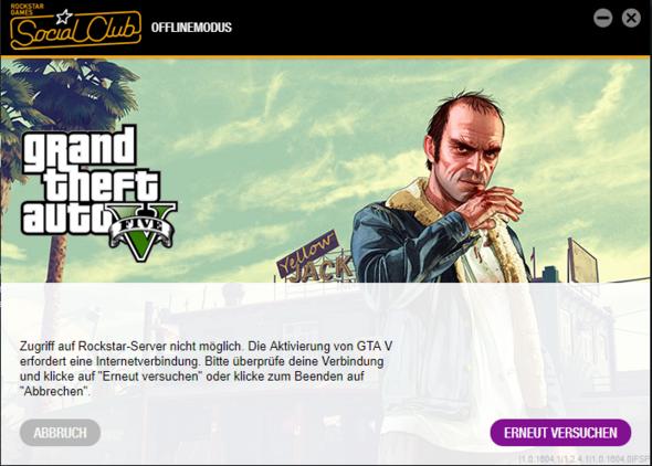 GTA 5 / Online geht nicht?