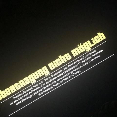 Hier ist ein Bild von der Fehlermeldung  - (Playstation 4, Übertragung)