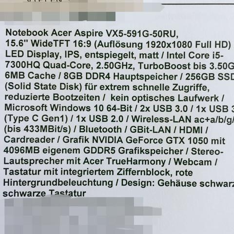 Technische Daten - (PC, Technik, Grandtheftauto)