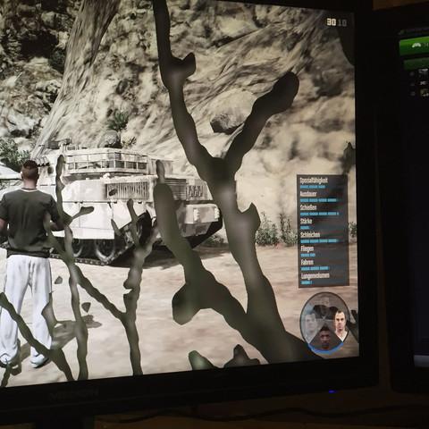 Erscheinen des Charakterwechsel-Menüs  - (PC, Spiele, GTA 5)