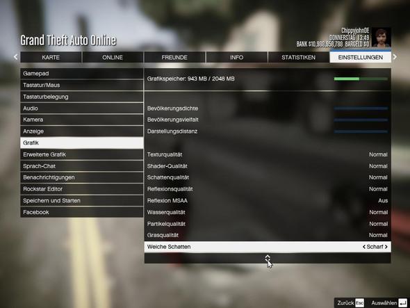 meine einstellungen 2 - (Gaming, GTA 5, grafik probleme)
