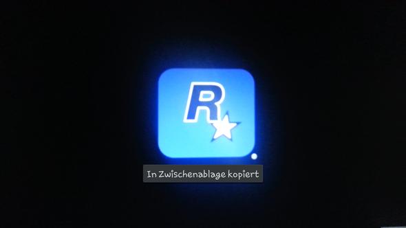 Blaues Logo - (Computer, Computerspiele, GTA IV)