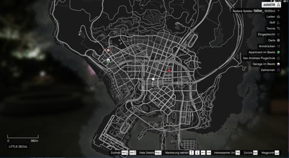 Gta Online Map leer - könnt Ihr mir helfen?