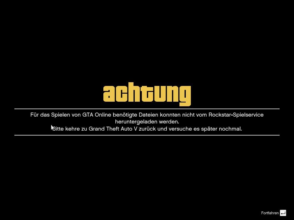Gta 5 Online Geht Nicht