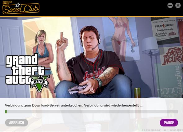 Screenshot vom Launcher - (Computer, Computerspiele, Download)