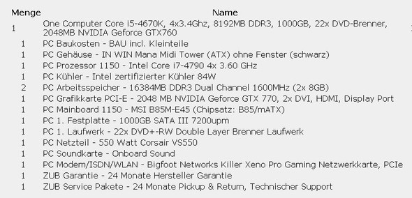 PC Komponenten - (Computer, PC, Technik)
