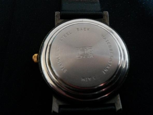 Unterseite - (Preis, Uhr, Wert)