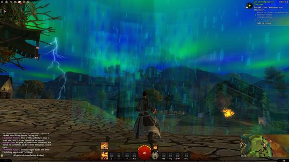"""Menschenintro """"Regen"""" - (guild-wars-2, grafikfehler)"""