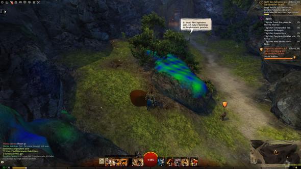 Grafikfehler auf Steinen 2 - (guild-wars-2, grafikfehler)