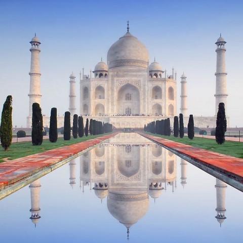 Taj Mahal  - (Liebe, Reise, Islam)