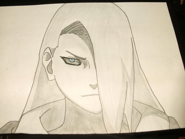 deidara - (zeichnen, Naruto, Schatten)